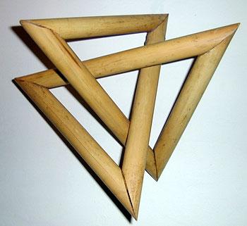 бамбуковые треугольники