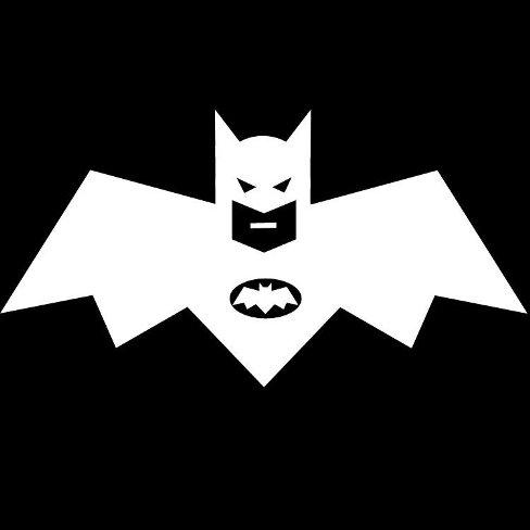 Бэтмэн лого иллюзия