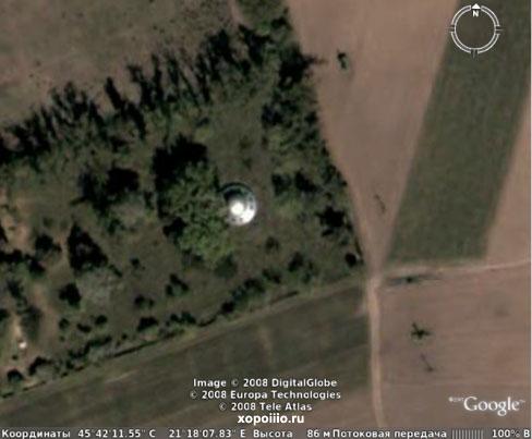 летающие тарелки google earth