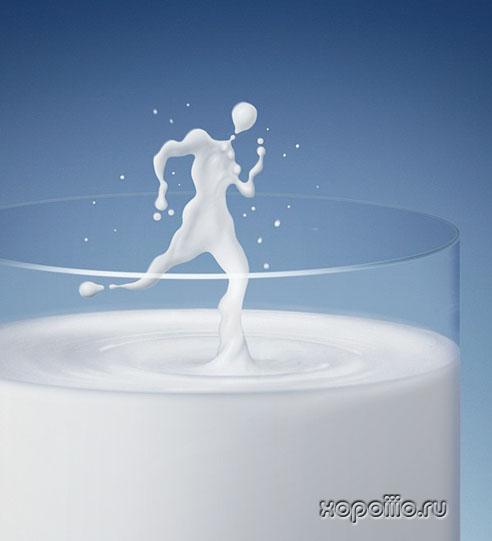 веселый молочник